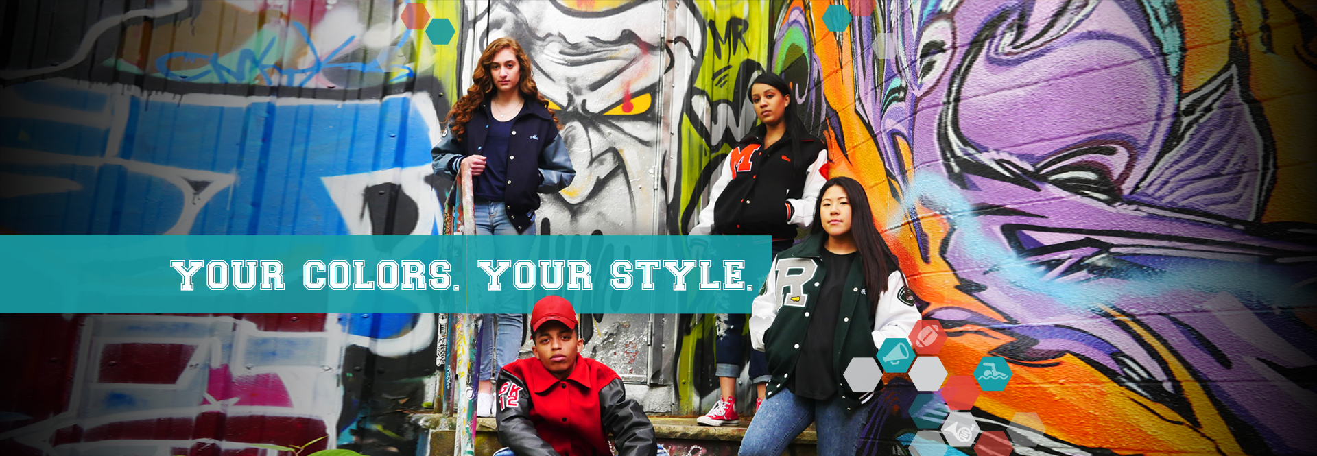 Design your own jacket. Custom Varsity Jackets from United Sport Apparel