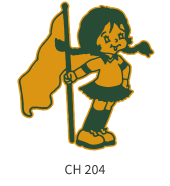 cheerleading-emblem-gold-kelly-flag-girl