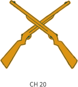 band-emblem-gold-two-crossed-rifles