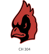mascots-emblem-red-black-bird-face