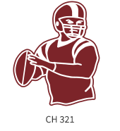 football-emblem-maroon-white-player