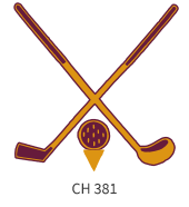 golf-emblem-gold-maroon-two-crossed-sticks