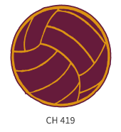 volleyball-emblem-cardinal-orange-ball