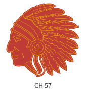 mascots-emblem-gold-red-indian-face