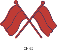 band-emblem-red-two-cross-flags