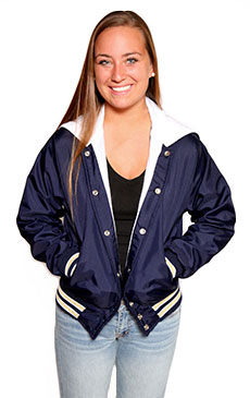 Lightweight Varsity Jacket by UnitedSportApparel